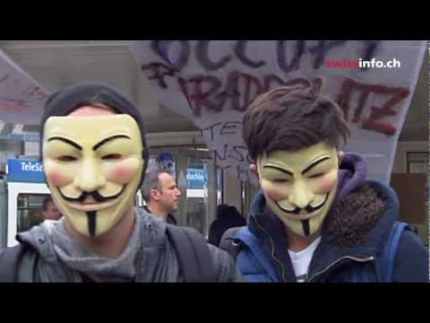 What's left of Zurich's Occupy movement?
