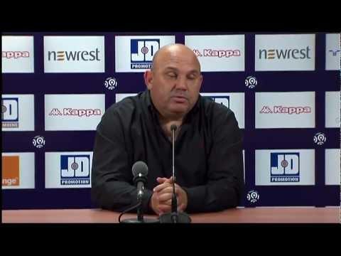 image vidéo  Conférence de presse Toulouse FC - Stade Rennais FC (2-2)