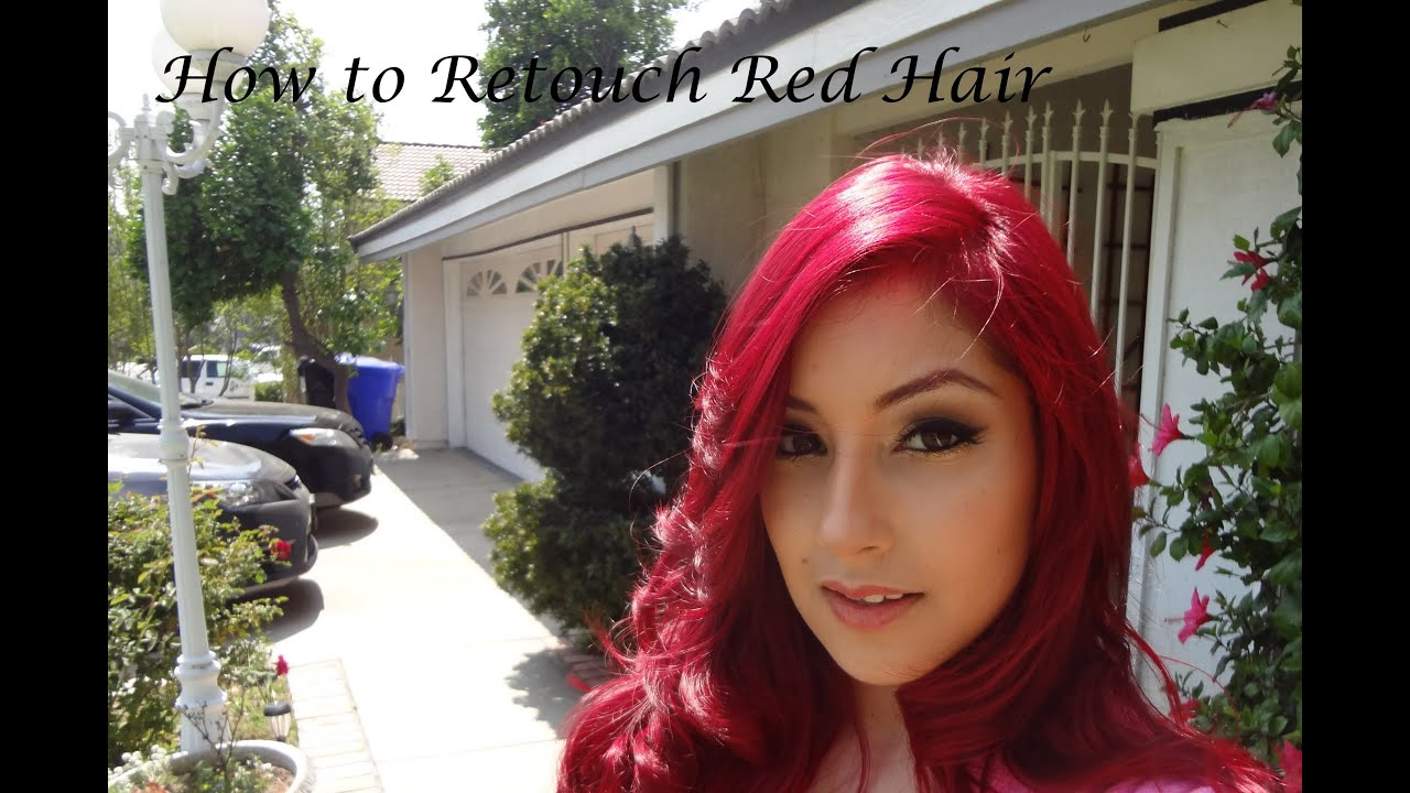 updated how to retouch hair using ion color