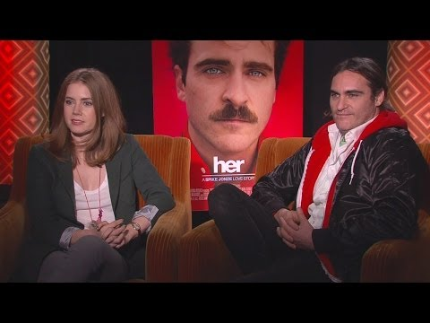 Amy Adams & Joaquin Phoenix - Her Interview HD