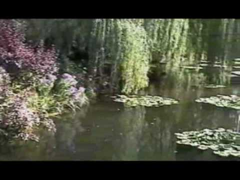The beautiful gardens at Giverny, Claude Monet