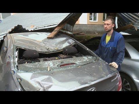 Ураган в Саранске и его последствия