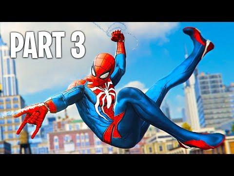 Spider Man PS4 Walkthrough Part 3 (Marvel's Spider-Man PS4 Pro Gameplay)