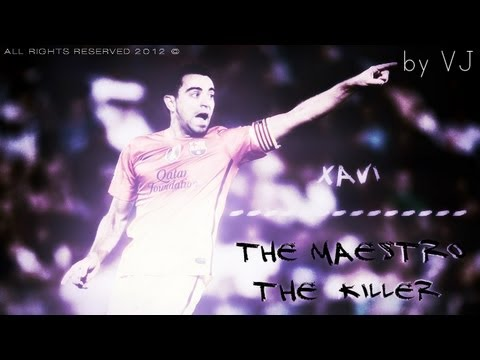Xavi - The Maestro | The Killer