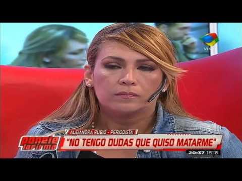 "Alejandra Rubio: ""No tengo dudas que quiso matarme"""