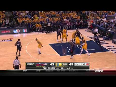 Atlanta Hawks Double for Kyle Korver 2014 NBA Playoffs