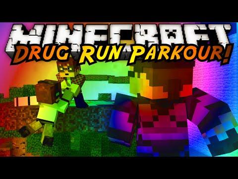 Minecraft Parkour : DRUG RUN 3 Part 1!