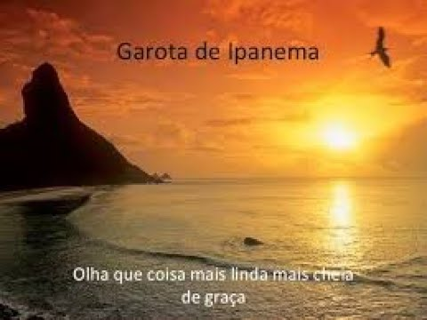 Garota de Ipanema - Joao Gilberto (testo/letras)
