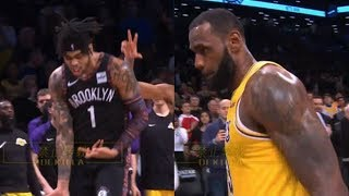Russell and the Nets expose the Lakers defense/Ball best offensive output/Anthony Davis rumors