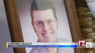Community remembers father of six killed in freak ocean accident