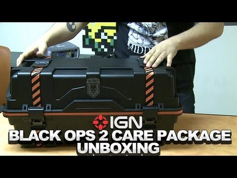 Call of Duty: Black Ops 2 Care Package Edition Unboxing