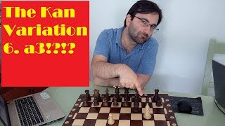The Sicilian Kan (Garcia - Aroshidze game 2)