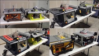 Table Saw Buyer's Guide