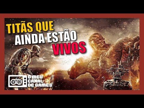TITÃS QUE AINDA SEGUEM VIVOS E PODEM REAPARECER [God of War] thumbnail