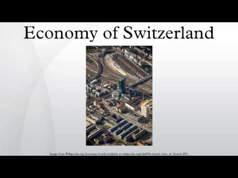 Economy of Switzerland