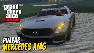 GTA 5 ONLINE - PIMPAR FET AMG MERCEDES & RACE MED RC-BIL