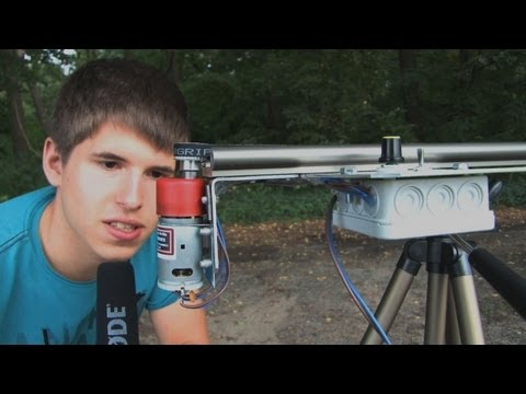 Camera-Slider mit Motor - Do It Yours
