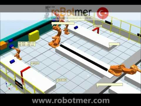 Taşıma Robotu Simülasyonu 3