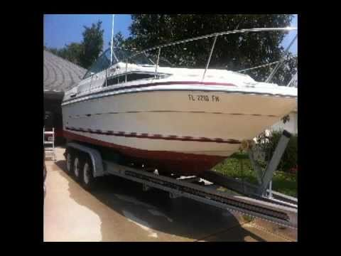 Sea Ray Sundancer 25 Foot Youtube
