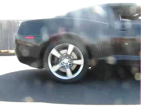 2010 Chevy Camaro Burnout Video!