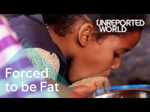 Young girls force-fed for marriage in Mauritania | Unreported World thumbnail