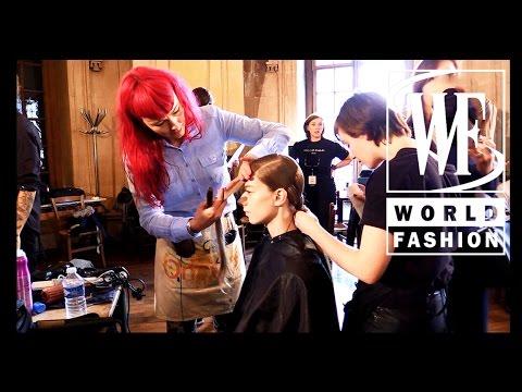 Backstage Sharon Wauchob Spring-Summer 2015 Paris Fashion Week