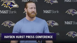 Hayden Hurst Say Big Game vs. Buffalo 'Hard to Put Into Words' | Baltimore Ravens