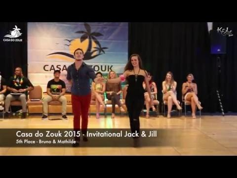 Casa do Zouk 2015 - Brazilian Zouk Invitational J&J 5th Place
