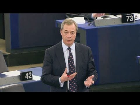 Using the crisis to build a United States of Europe - Nigel Farage