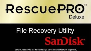 SanDisk RescuePro Deluxe File Recovery Kurulum  ve Crack