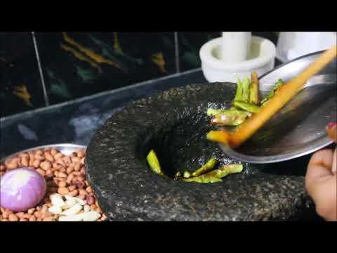 palli roti pachadi/palli tomato chutney/peanut chutney in telugu