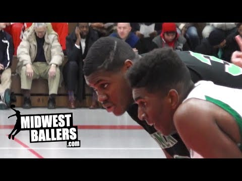 Diamond Stone And Kevon Looney FACE OFF At The Terry Porter Classic!