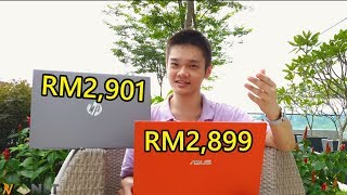 Battle of the budget ultrabooks! ASUS VivoBook Ultra A512 vs. HP Pavilion 15 cs2010TX