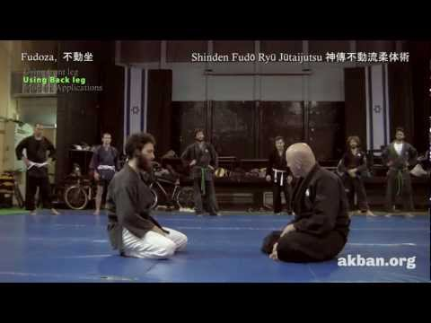 Ninja sitting techniques in modern life, applied Fudoza - Ninjutsu training AKBAN