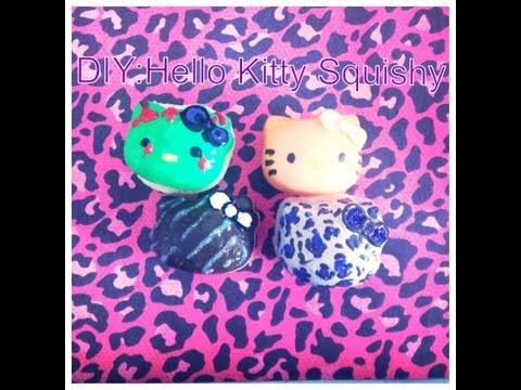 Squishy Making Kit : DIY: Squishy Hello Kitty Heads