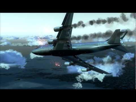 Boeing 747 Crash Crash Landing Boeing 747-400