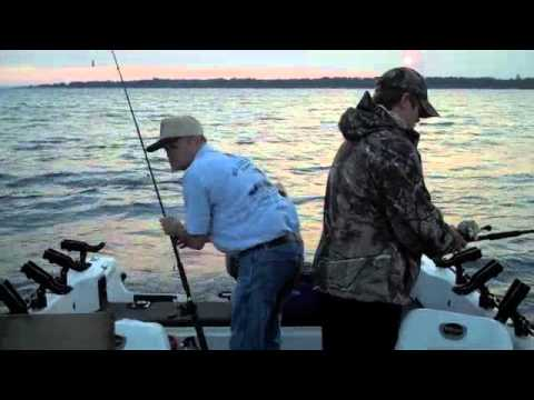 Lake Michigan Walleye Fishing 2012