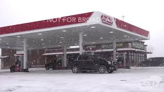 12-27-2018 Rapid City, SD - I-90 Whiteout Low Visibility Travel