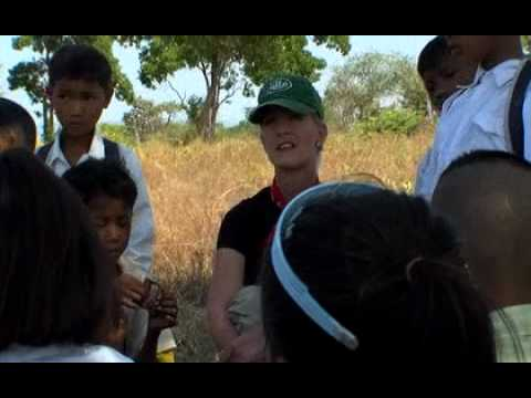 Cindy McCain & HALO Trust In Cambodia