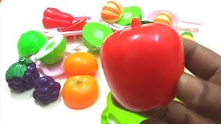 Learn Colors with fruits and vegetables Finger Family Song Nursery Rhymes Learning Video