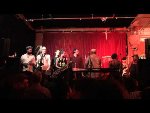 Dele Sosimi and his afrobeat orchestra @ London African Music Festival (Part 1)
