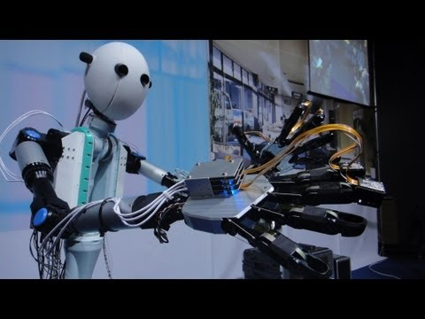 Telexistence Robot Avatar Transmits Sight, Hearing and Touch - TELESAR V #DigInfo