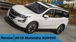 2018 Mahindra XUV500 Review - Best Indian SUV | MotorBeam