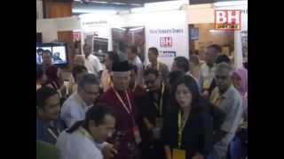 Najib tinjau 'Balai Berita' di PWTC