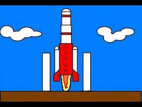 Roket Pengorbit Satelit (RPS) LAPAN dalam Animasi