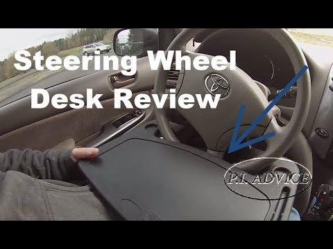 Steering Wheel Desk Review For Private Investigators