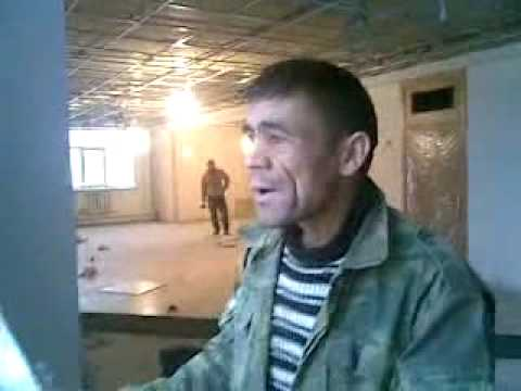Tajik Worker Singing indian Song Music Videos