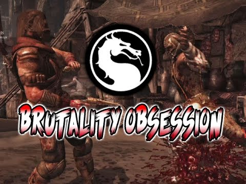 BRUTALITY OBSESSION - WEEK OF! Scorpion & Sub-Zero Part 2: Mortal Kombat X (Online Ranked)