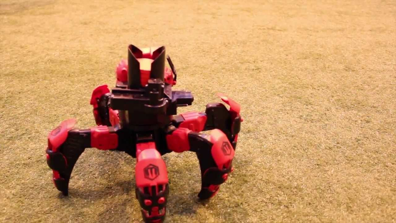 2013 Best Toys For Boys : Attacknids s hottest toy for boy youtube