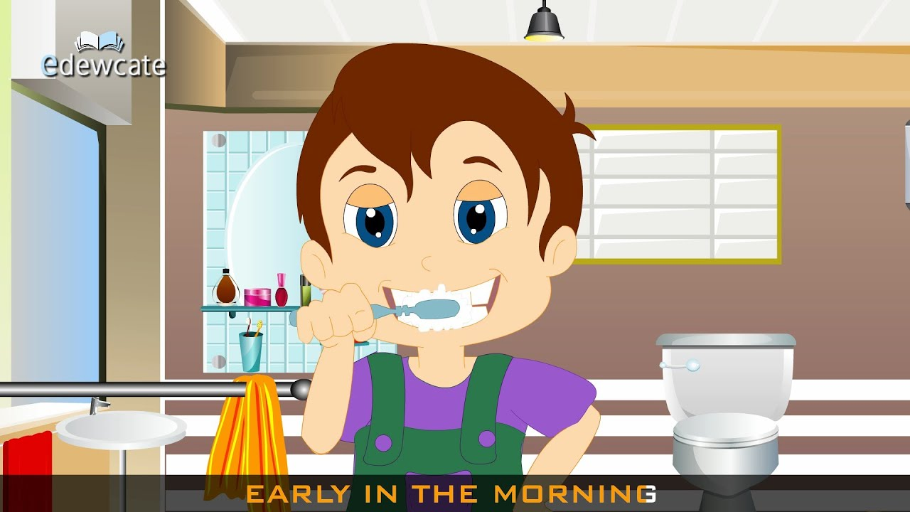 brush brush brush your teeth nursery rhyme the good someone taking a shower clipart girl taking a shower clipart